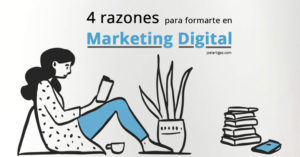 4 razones para formarte en Marketing Digital Thumbnail