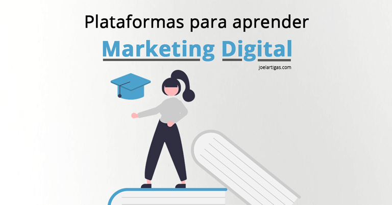 Plataformas para aprender Marketing Digital